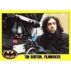 1989 Batman The Movie Series 2 Topps TIM BURTON, FILMMAKER #245