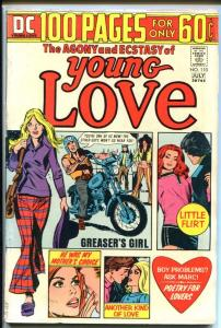 YOUNG LOVE #110-DC ROMANCE-100 PAGE GIANT-GREASERS GIRL VG+
