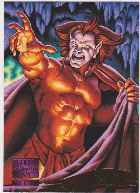 1995 Marvel Masterpieces #132 Mephisto