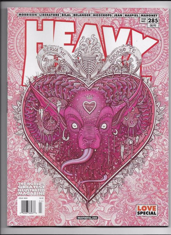 Heavy Metal Magazine #285 - Love Special Cover A by Florian Bertmer (2017) New!
