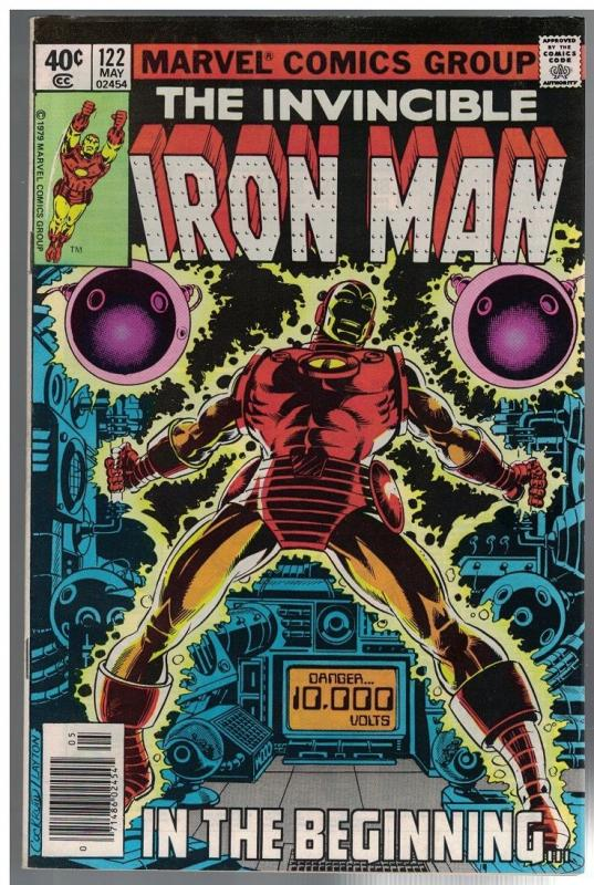 IRON MAN 122 VG-F   May 1979  ALCOHOL ISSUES