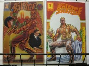 DOC SAVAGE DOOM DYNASTY (1991 ML) 1-2  TERRY COLLINS