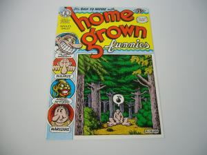 Home Grown Funnies #1 VF(16th) kitchen sink ROBERT CRUMB underground print