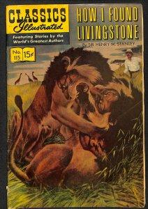 Classics Illustrated #115 (1954)