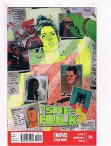 She-Hulk # 5 VF Marvel Comic Book Soule Wimberly Renzi Series Defenders Thor S64