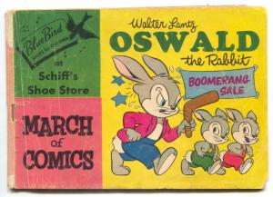 March of Comics #126 1955-Oswald the Rabbit G