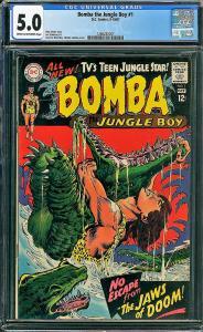 Bomba the Jungle Boy #1 (DC, 1967) CGC 5.0