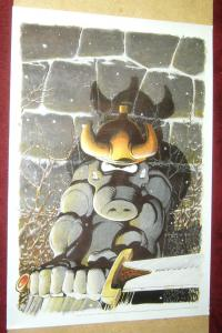 Dave Sim's Cerebus poster - 24 x 35 - 1989 comic legends legal defense fund