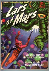 LARS OF MARS #11-1951-JERRY SIEGEL-GENE COLAN-SCI FI GOLDEN AGE-FR FR