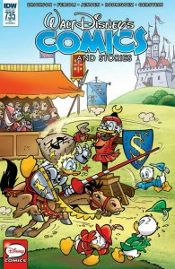 WALT DISNEY'S COMICS & STORIES #735 Variant 1:10 IDW RARE