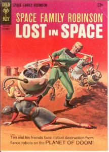 SPACE FAMILY ROBINSON 19 VG+ Dec. 1966 COMICS BOOK