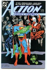 Action Comics Weekly 642 Mar 1989 NM- (9.2)