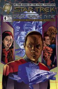 Star Trek: Deep Space Nine (Malibu) #6 VF/NM; Malibu   save on shipping - detail