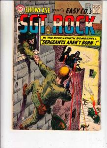 Showcase #45 (Aug-63) VG/FN+ Mid-Grade Easy Company, Sgt. Rock