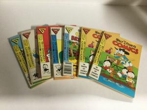 Walt Disney's Comics Comics Digest 1 2 4-7 Gladstone B3