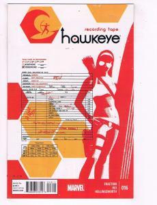 Lot Of 3 Hawkeye Marvel Comic Books # 16 17 18 NM 1st Prints Aja Fraction J57