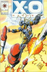 X-O Manowar (1992 series) #23, VF+ (Stock photo)