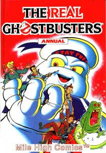 REAL GHOSTBUSTERS UK HC ANNUAL (1989 Series) #1 Near Mint