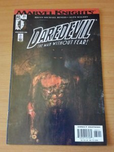 Daredevil #31 (411) ~ NEAR MINT NM ~ 2002 MARVEL COMICS