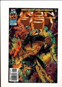 Marvel Comics IRON FIST Sept 1996 #1 F/VF (SIC521)