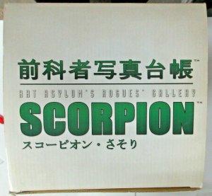 Scorpion Marvel Art Asylum Rogues Gallery Diamond Select Toys Spider-Man villain