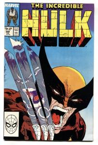 Incredible Hulk #340 Classic McFarlane cover Wolverine VF