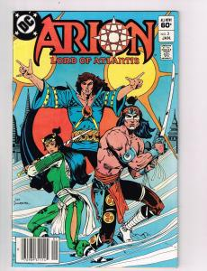 Arion Lord of Atlantis (1982) #3 DC Comic Book Paul Kupperberg Battle Cry HH2