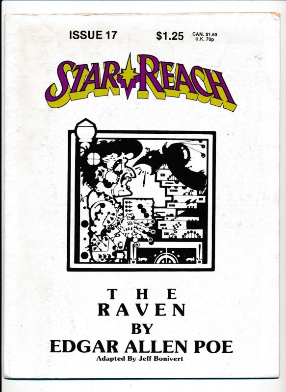 Star Reach #17 - 1979 THE RAVEN by Edgar Allen Poe (HX937)