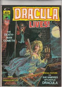 Dracula Lives #7 (Jul-73) FN/VF Mid-High-Grade Dracula