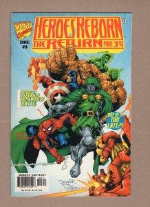 Heroes Reborn: The Return #3 (1997)