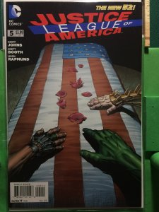 Justice League of America #5 The New 52
