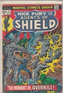 SHIELD #3 (1973)