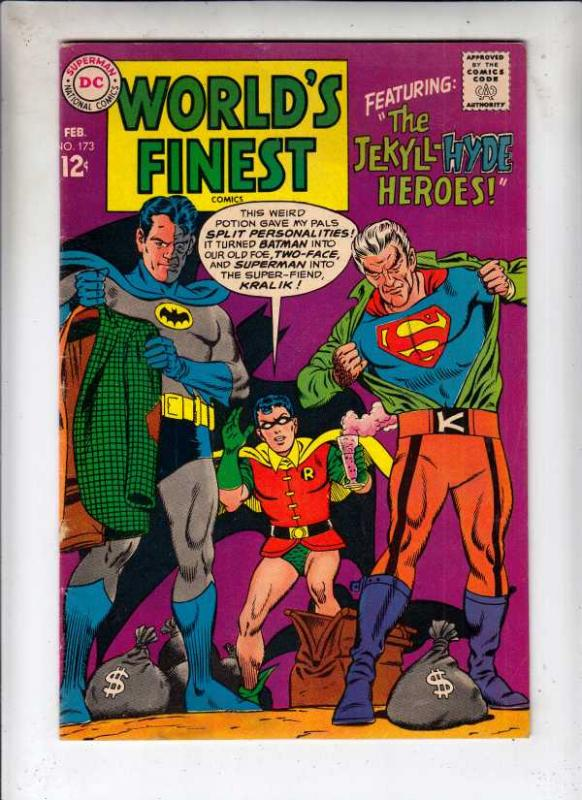 World's Finest #173 (Feb-68) FN/VF Mid-High-Grade Superman, Batman, Robin