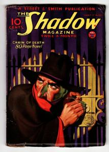 SHADOW 1934 July 15 STREET AND SMITH-RARE PULP FN