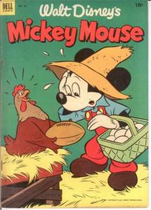 MICKEY MOUSE 32 VG-F Aug. 1953 COMICS BOOK