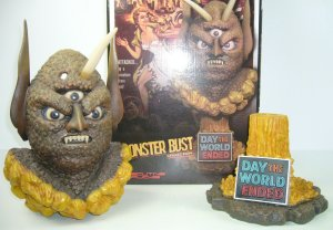 The Day the World Ended Monster Bust: Marty The Three Eyed Mutant (#46/200)