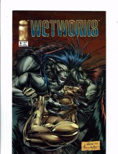 Wetworks # 2 VF/NM Image Comic Book 1994 Whilce Portacio ZZ6