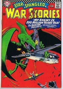 Star Spangled War Stories #128 ORIGINAL Vintage 1966 DC Comics