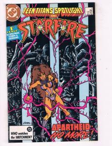 Teen Titans Spotlight (1986) #1DC Comic Book Starfire Wolfman Giordano HH3