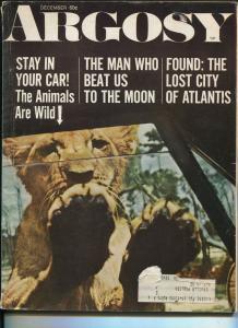 Argosy 12/1969-Atlantis-Jules Verne-AJ Foyt-Pearl Harbor-VG