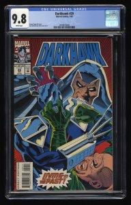 Darkhawk #29 CGC NM/M 9.8 White Pages