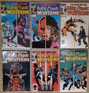 Kitty Pryde and Wolverine #1-6 Limited Mini Series - X-men