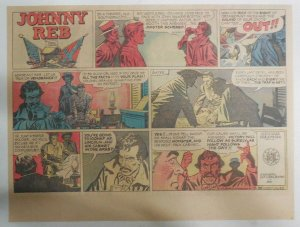 Johnny Reb Sunday by Frank Giacoia & Jack Kirby from 3/22/1959 Half Page Size!