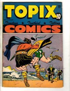 Topix Comics Vol. # 5 # 9 FN 1947 Golden Age Comic Book Truthful Telling JL7