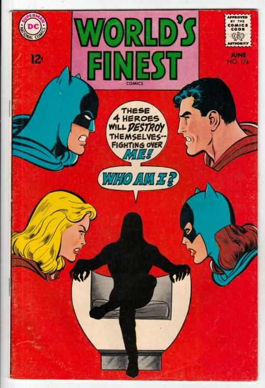 World's Finest #176 (Jun-68) VF/NM High-Grade Superman, Batman, Robin