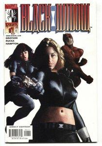 Black Widow #1 2001 Marvel Knights comic book NM-