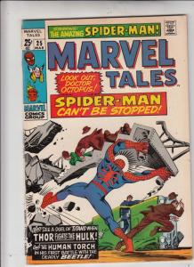 Marvel Tales #25 (Mar-70) VF/NM High-Grade Spider-Man, Thor, Human Torch