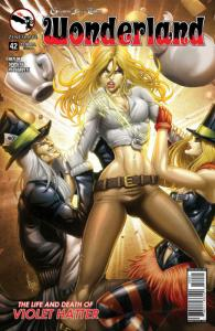 GRIMM FAIRY TALES , WONDERLAND #42 B, VF, Alice, 2015, more GFT in our store