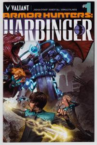 Armor Hunters Harbinger #1 (Valiant, 2014)   9.6 NM+