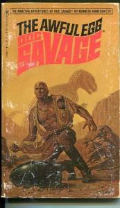 DOC SAVAGE-THE AWFUL EGG-#92-ROBESON-VG-BOB LARKIN COVER-1ST EDTION VG